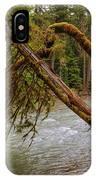 Cispus River At Iron Creek - Washington State IPhone Case