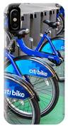 Citibike Rentals Nyc IPhone Case