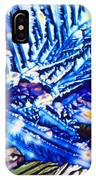 Citric Acid Microcrystals Abstract Color Art IPhone Case