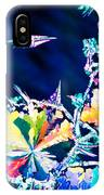 Citric Acid Microcrystals Color Abstract Art IPhone Case