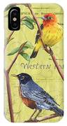 Citron Songbirds 2 IPhone Case