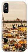 City And Cathedral Lisbon Portugal IPhone Case