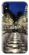 City Creek Fountain - 2 IPhone Case