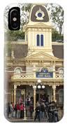 City Hall Main Street Disneyland IPhone Case