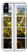 City Lights White Window Frame View IPhone Case