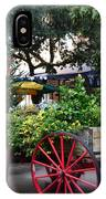 City Market At Christmas IPhone Case