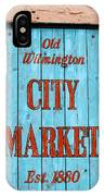 City Market Sign IPhone Case