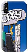 City Motel Las Vegas IPhone Case