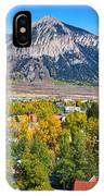 City Of Crested Butte Colorado Panorama   IPhone Case