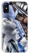 City Of London Iconic Buildings IPhone Case