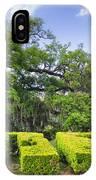 City Park New Orleans Louisiana IPhone Case