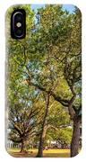 City Park Oaks IPhone Case