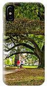 City Park Stroll IPhone Case