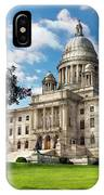 City - Providence Ri - The Capitol  IPhone Case