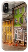 City - Providence Ri - Thomas Street IPhone Case