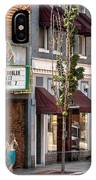 City - Roanoke Va - Down One Fine Street  IPhone Case