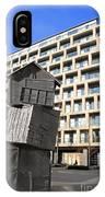 City Sculpture London IPhone Case