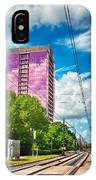 City Streets Of Charlotte North Carolina IPhone Case