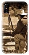 Civil War Soldier  IPhone Case