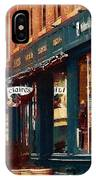 Claire's On College Street IPhone Case