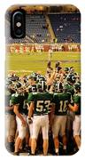Clare Pioneers At Ford Field IPhone Case