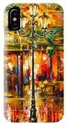 Clarens Misty Cafe IPhone Case