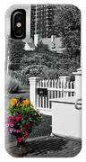 Clark House Flowers 2 IPhone Case