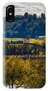 Clarksville Railroad Bridge IPhone Case