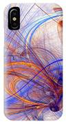 Clash Of Fire And Ice IPhone Case