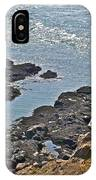 Clashing Tides At Tip Of Cape D'or-ns IPhone Case