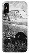 Clasic Car - Pen And Ink Effect IPhone Case