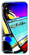 Classic 57 Chevy Art IPhone Case