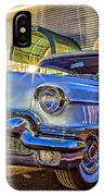 Classic Blue Caddy At Night IPhone Case
