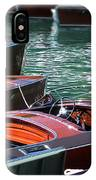 Classic Boats In Lake Tahoe IPhone Case