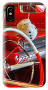 Classic Cadillac Beauty In Red IPhone Case