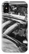 Classic Engine - Classic Cars At The Concours D Elegance. IPhone Case