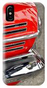 Classic Impala In Red IPhone Case