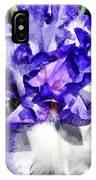 Classic Look Iris Closeup IPhone Case