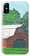 Classic Red Barn IPhone Case