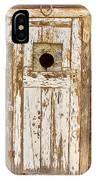 Classic Rustic Rural Worn Old Barn Door IPhone Case
