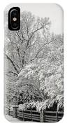 Classic Snow IPhone Case by Carol Whaley Addassi