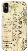 Claude Gillot, Studies Of Ornament And Architecture IPhone Case