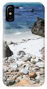 Clear California Cove IPhone Case