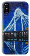 Clear Night Over The Trinity IPhone Case