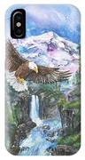 Cleared For Landing Mount Baker IPhone Case
