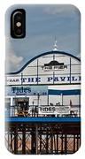 Cleethorpes Pier IPhone Case