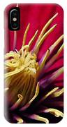 Clematis Center In Oils IPhone Case
