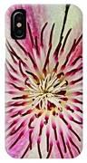 Clematis IIi IPhone Case