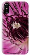 Clematis Up Close IPhone Case