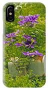 Clematis Vine On Mailbox Photo Art IPhone Case